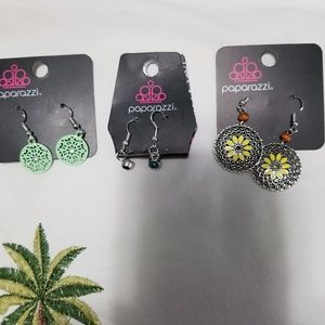 Paparazzi earrings  10 pair